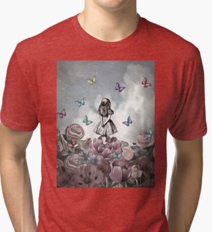 Alicia en el país de las maravillas - Wonderland Garden Camiseta de tejido mixto