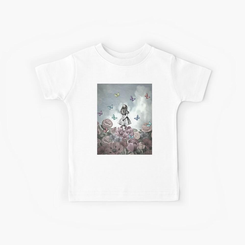 Alice im Wunderland - Wonderland Garden Kinder T-Shirt