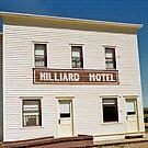 Hilliard Hotel, Ukrainian Cultural Heritage Village, near Edmonton, Alberta, Canada by Adrian Paul