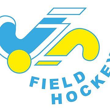 field hockey logo by hookfreaks