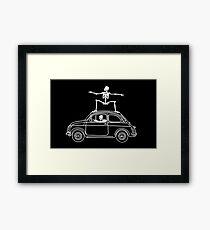 Fiat Surfing Framed Print