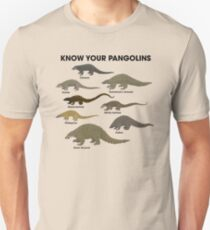 Kenne deine Pangolins Slim Fit T-Shirt