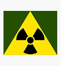 Leonard's Nuclear Symbol Photographic Print