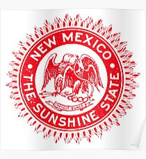 1940 New Mexico, The Sunshine State Poster