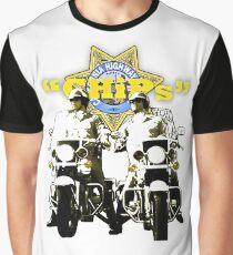 CHIPs Grafik T-Shirt