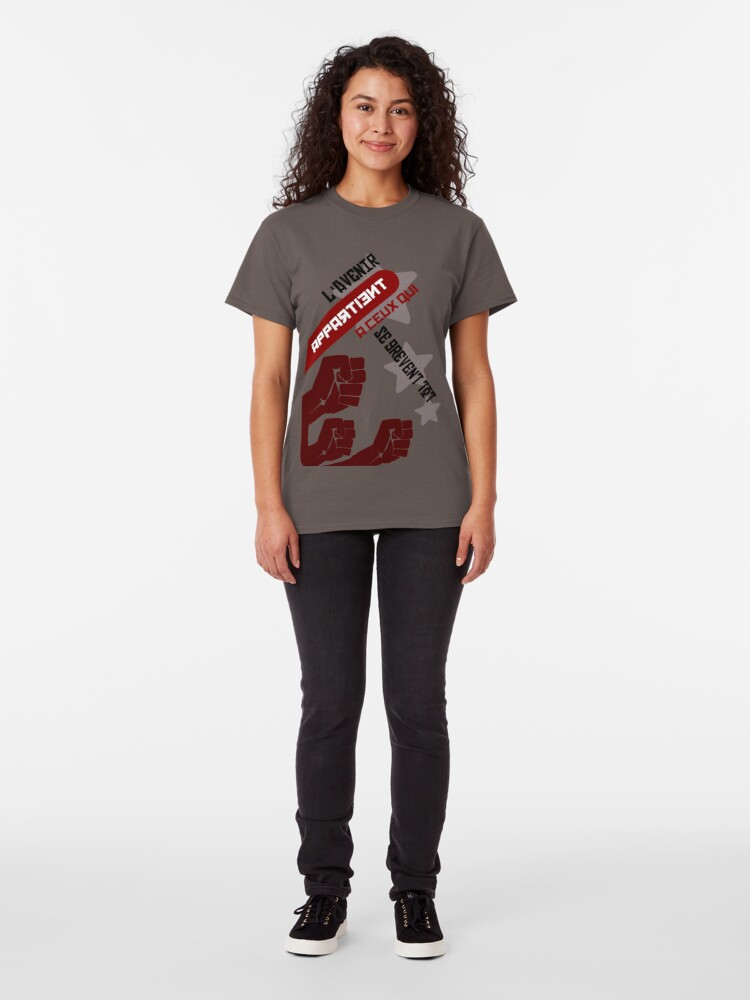 Alternate view of The future belongs to those who are aging early Classic T-Shirt