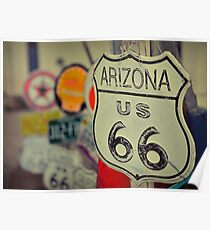 Route 66. Poster