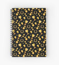 The winner takes it all! Spiral Notebook