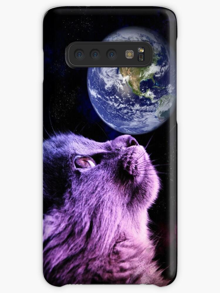 Meowosaurus Samsung S10 Case