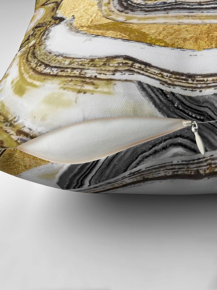 Vista alternativa de Cojín Stone Prose Gold Geode