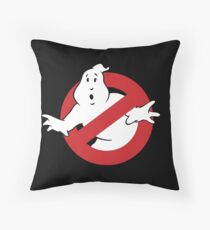 GhostBusters - OG Ghost Busting Logo Throw Pillow