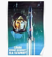 Yuri Gagarin III Poster
