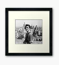 Marina Ginesta - The Left is Beautiful Framed Print