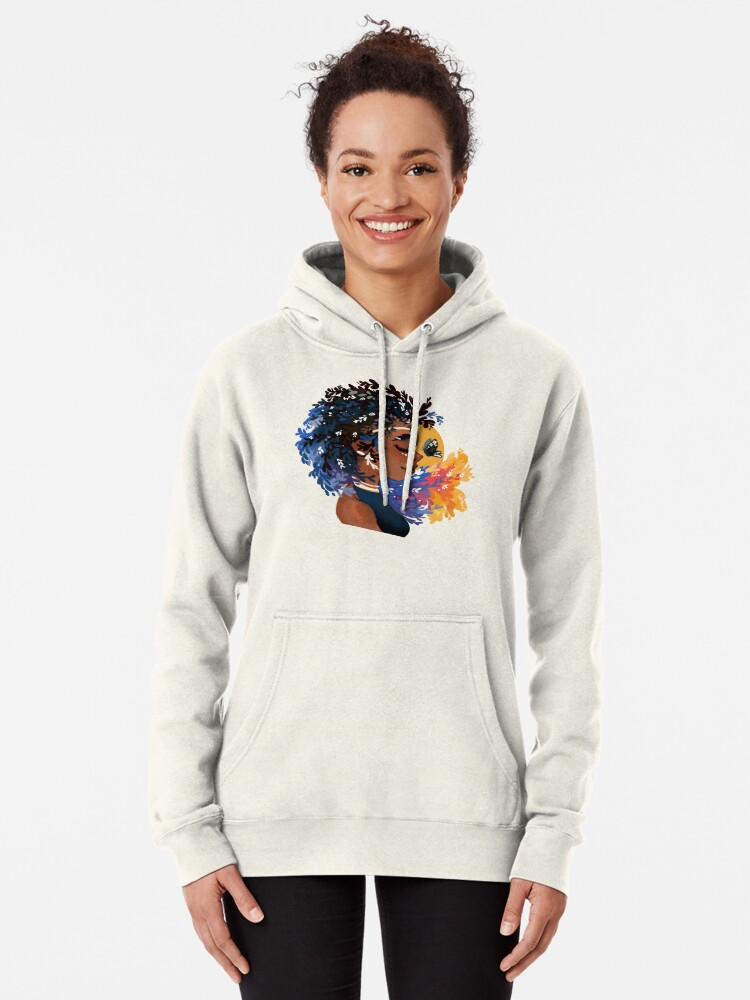 Alternate view of Thyme and time again Pullover Hoodie