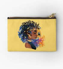 Thyme and time again Zipper Pouch