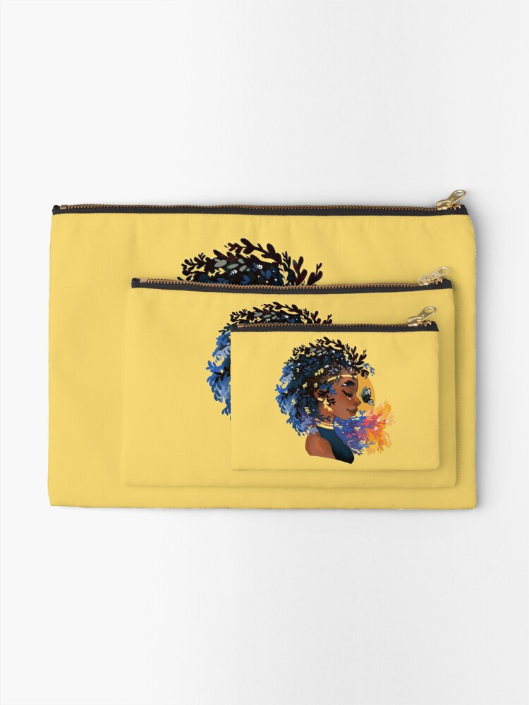 Alternate view of Thyme and time again Zipper Pouch
