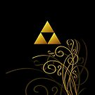 Triforce with Swirls - Simple Version by Sarinilli