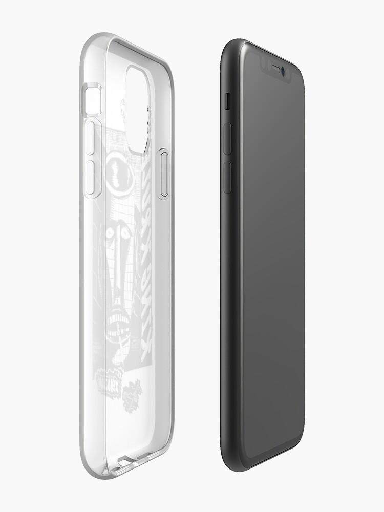 smart battery case pour iphone xs | Coque iPhone «Oeuvre de King Krule», par sellyasomestuff