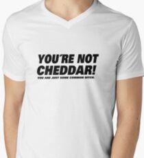Camiseta para hombre de cuello en v BROOKLYN NUEVE NUEVE- CHEDDAR.