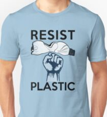 Resist Plastikverschmutzung Slim Fit T-Shirt