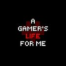 Pixel Text - Gamer's Life by Sarinilli