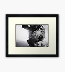 Into The Mind Of Biker Framed Print