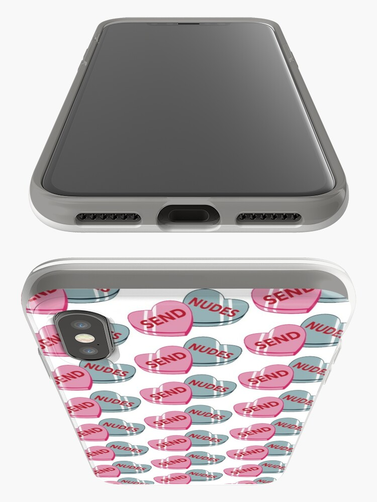 Alternate view of Send Nudes <3 iPhone Case & Cover