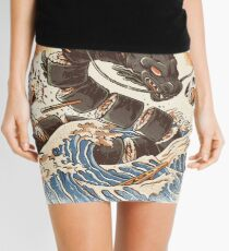 Great Sushi Dragon  Mini Skirt