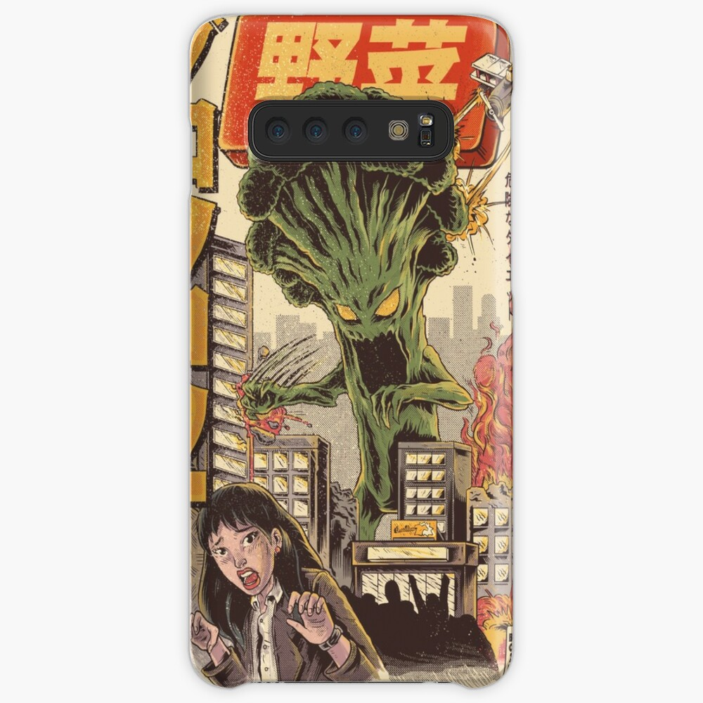 THE BROCCOZILLA Cases & Skins for Samsung Galaxy