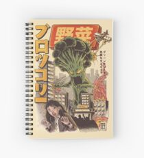 THE BROCCOZILLA Spiral Notebook