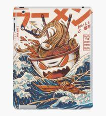 Vinilo o funda para iPad El Gran Ramen frente a Kanagawa