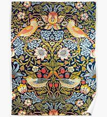 William Morris Strawberry Thief Design 1883 Poster