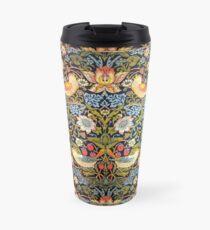 William Morris Strawberry Thief Design 1883 Travel Mug