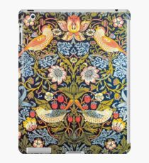 William Morris Strawberry Thief Design 1883 iPad-Hülle & Klebefolie
