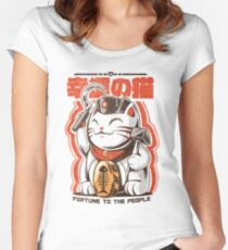 Catnist Fitted Scoop T-Shirt