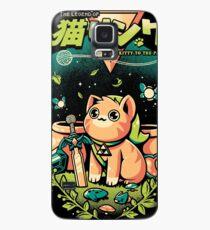 Eine Kitty in die Vergangenheit Hülle & Klebefolie für Samsung Galaxy