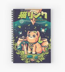 A Kitty to the past Spiral Notebook