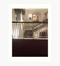 Beaut Balcony Art Print