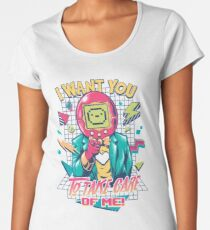 SAMAGOTCHI Women's Premium T-Shirt