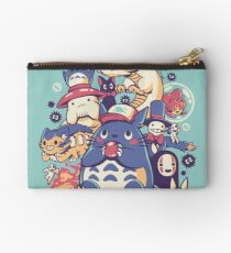 Creatures Spirits and friends Zipper Pouch