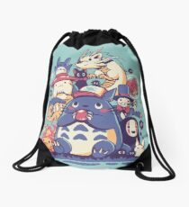 Creatures Spirits and friends Drawstring Bag