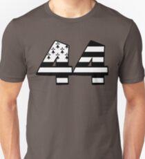 44 loire atlantiques nantes bretagne T-shirt unisexe
