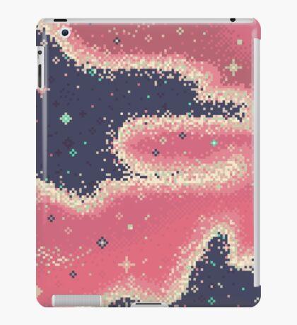 Pink Midnight Galaxy (8bit) iPad Case/Skin