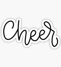 Cheer Sticker