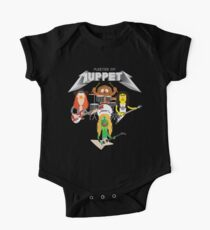 Master of Muppets 2 - Muppets as Metallica Band One Piece - Short Sleeve