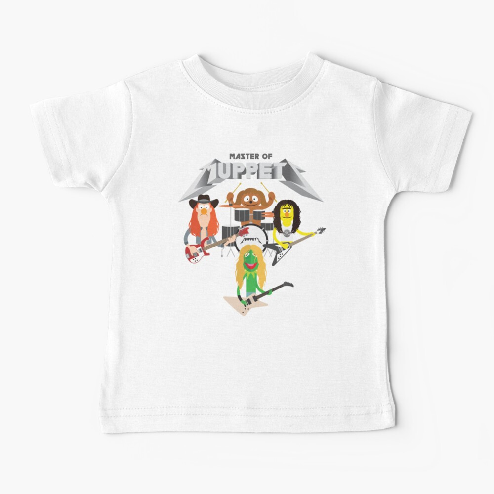 Master of Muppets 2 - Muppets as Metallica Band Baby T-Shirt