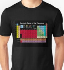 Periodic table of the Elements updated Slim Fit T-Shirt
