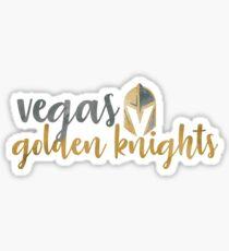 Vegas Golden Knights Watercolor  Sticker