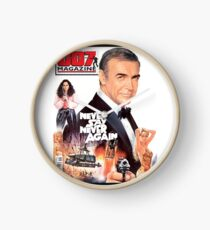 NEVER SAY NEVER AGAIN (007 MAGAZINE #40 cover design) Clock