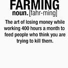 Landwirtschaft Definition (Schwarz) von cassiarose